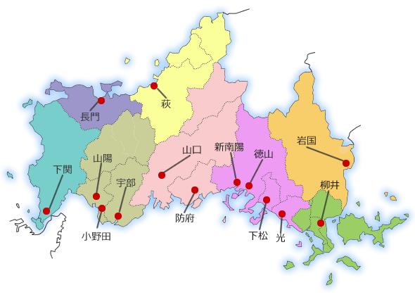 コロナ 山口 下松 県